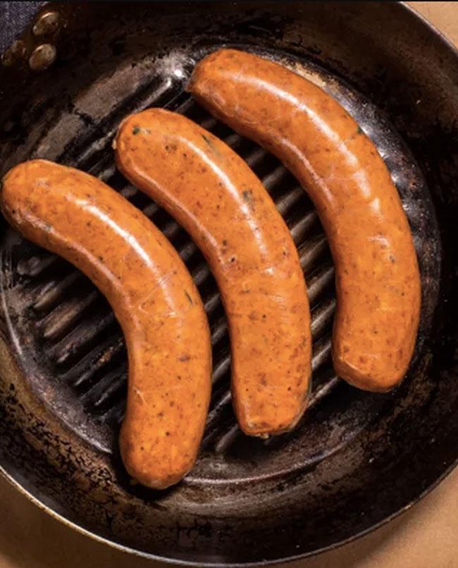 frankfurter pork gruyere jumbo