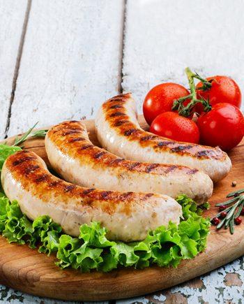 frankfurter pork gruyere sausages