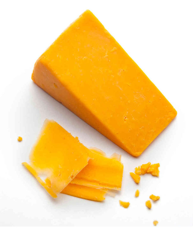 red cheddar cheese