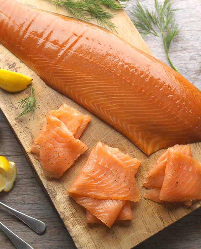 Norwegian Smoked Salmon Slices