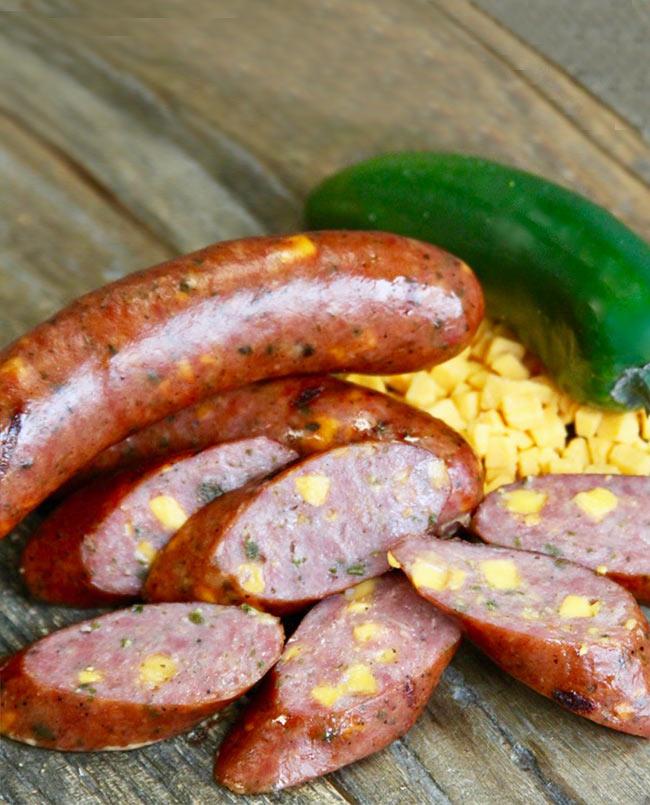 Jalapeno Cheddar Smoked Sausage