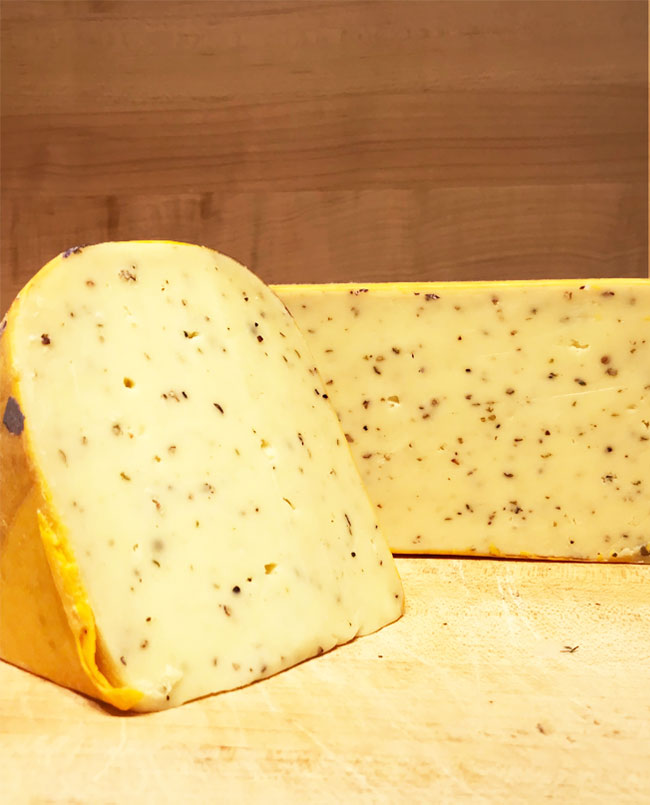 Black Pepper Gouda Cheese
