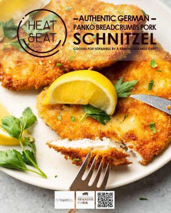 Authentic German Pork Schnitzel