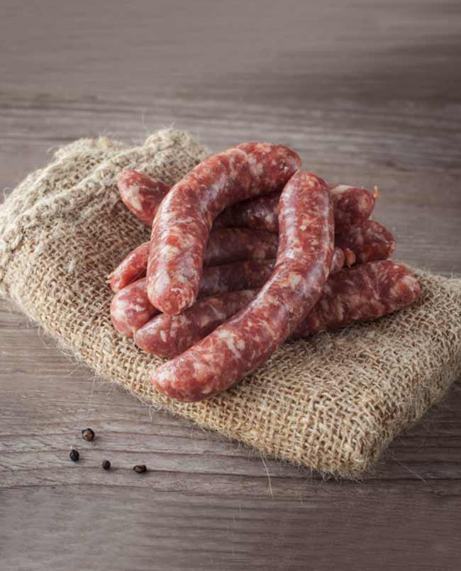 butcher sausages