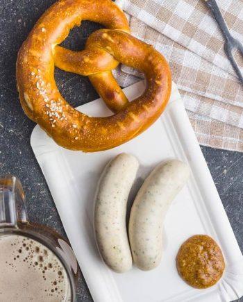 weisswurst sausages